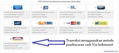 Transaksi Tokopedia via Indomaret
