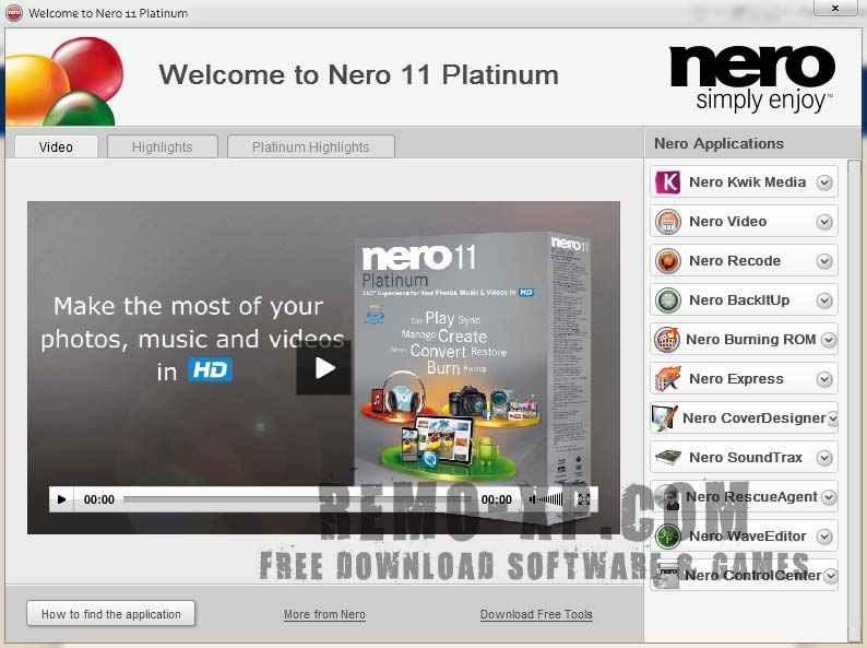 nero 10 with key