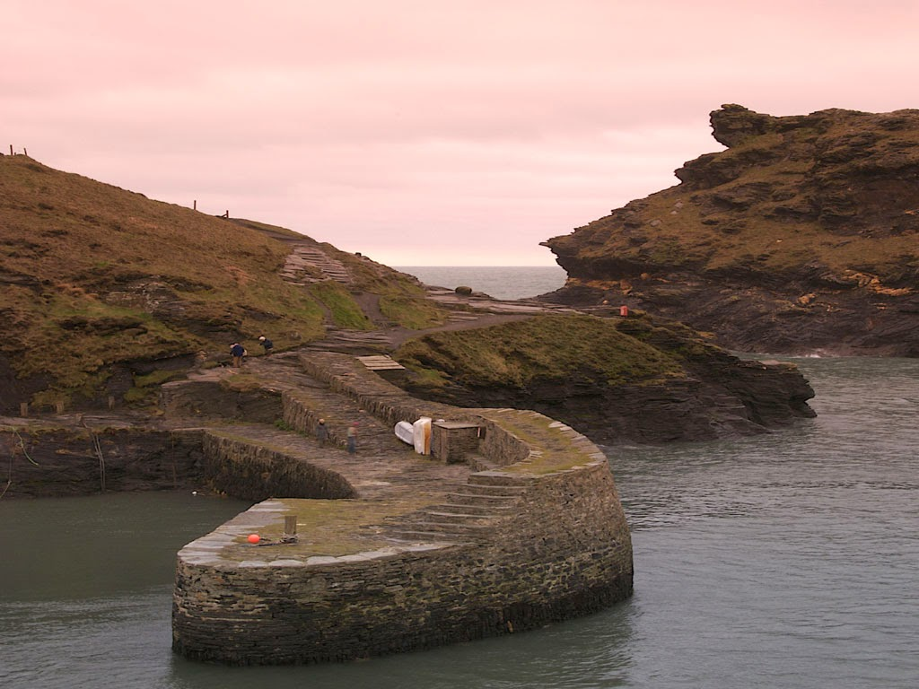 Winter Short Breaks Boscastle Harbour, North Cornwall
