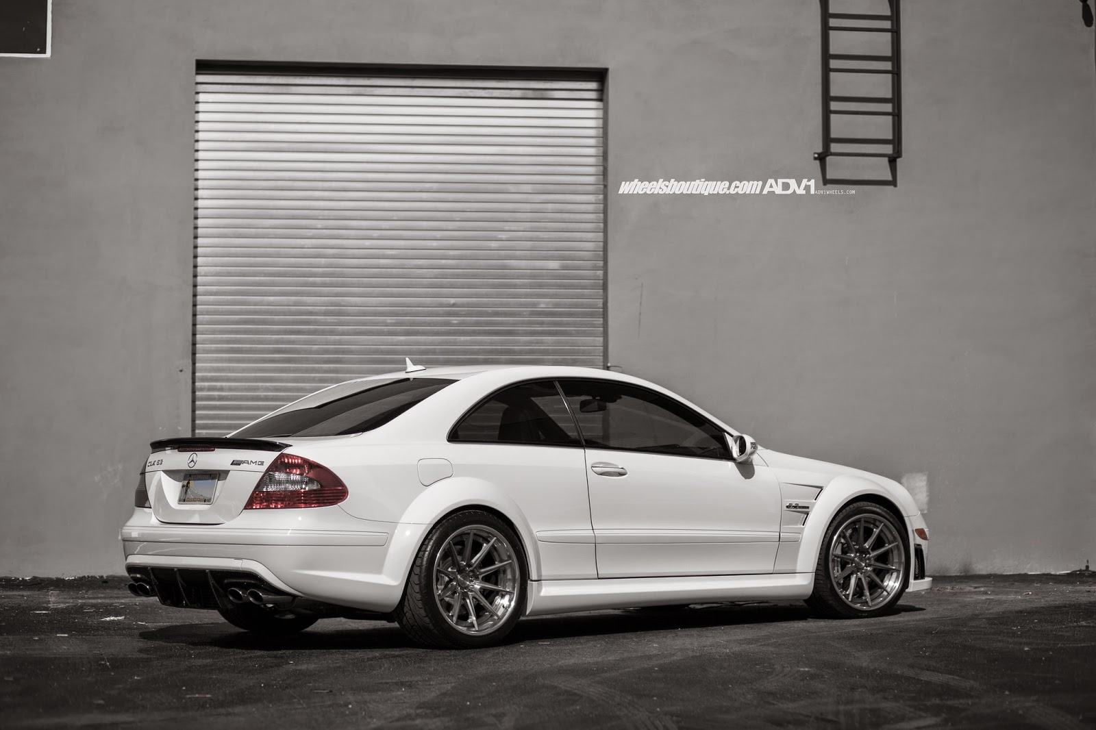 Mercedes benz clk63 amg black series on adv 1 wheels for Mercedes benz clk black series