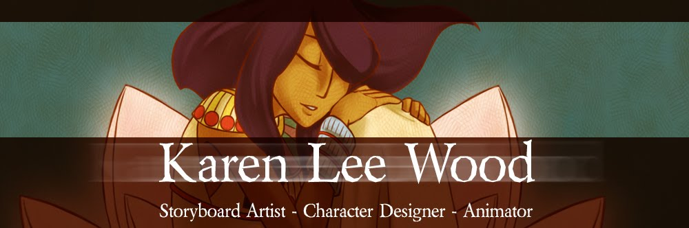 Karen Lee Wood - Animation Portfolio Site