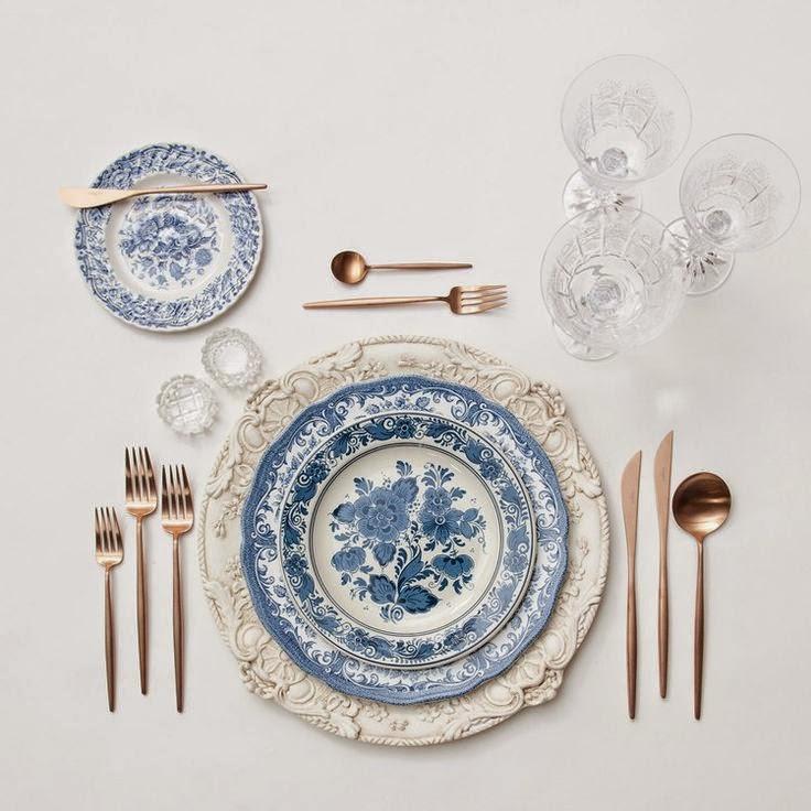 Decoraci n la mesa perfecta c mo combinar vajillas - Vajillas de cristal ...