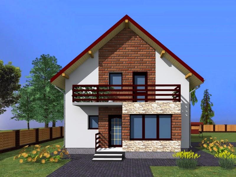 Proiecte case cu mansarda 2014
