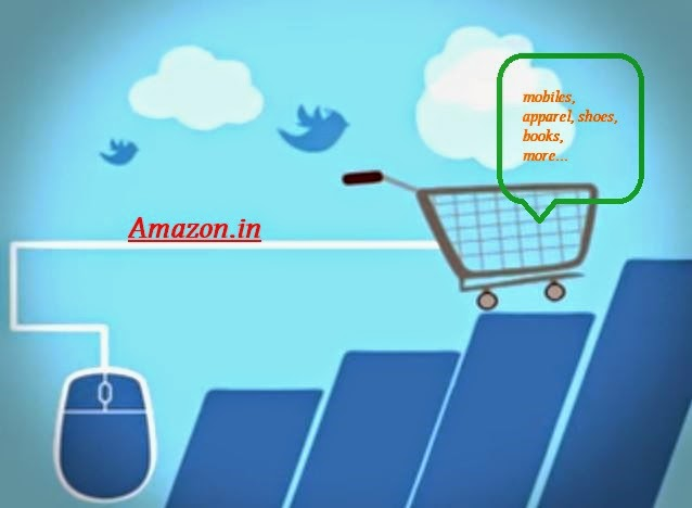 online shopping in India amazon.in
