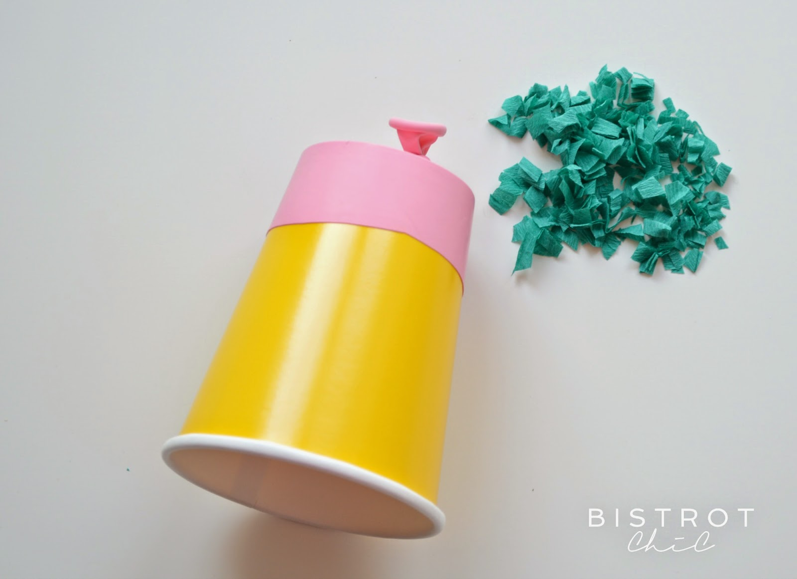 Confetti launcher by BistrotChic