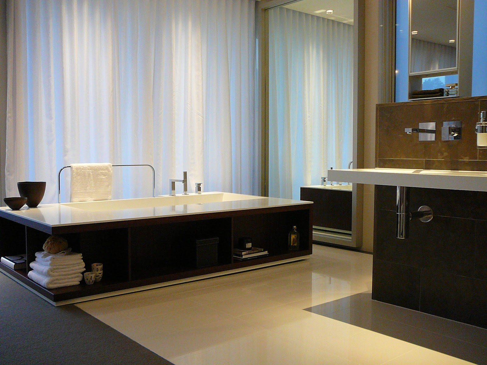 Minosa new minosa bathroom design resort style ensuite - Minosa The New Modern Design Parents Retreat Vs Ensuite The Open Plan Bathroom