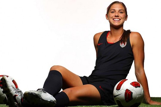 Alex Morgan Hot 2012