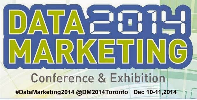 #datamarketing2014   Dec 10 - 11