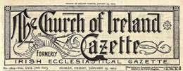 Search the 1911-1923 Church of Ireland Gazette