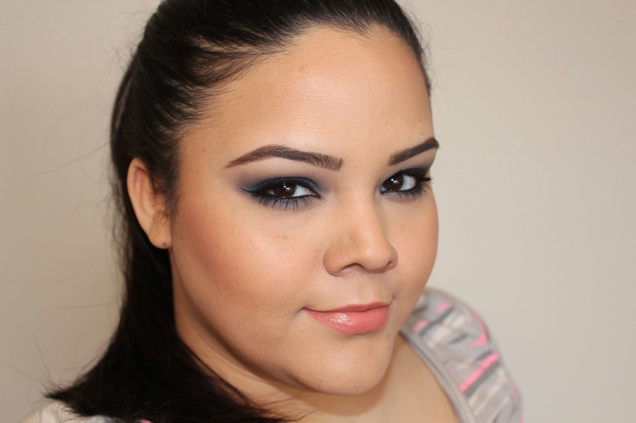 The soriam effect midnight blues makeup tutorial using loreal midnight blues makeup tutorial using loreal infallible eyeshadow baditri Image collections