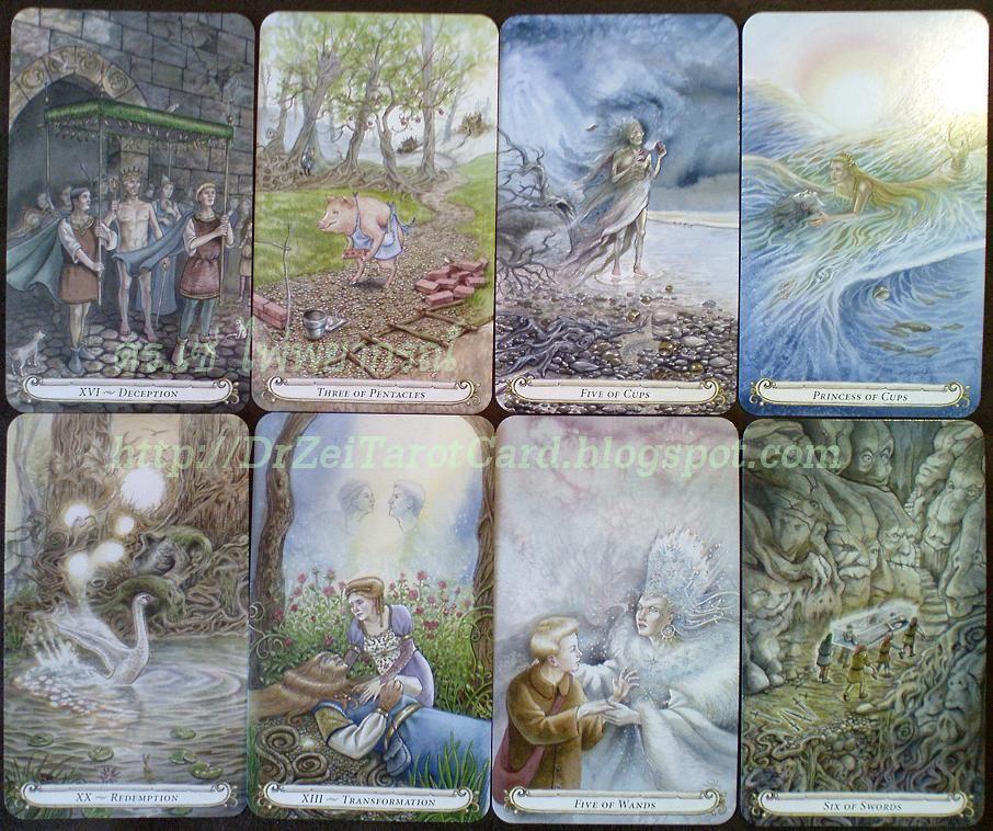 ไพ่ยิปซี Fairytale tarot ไพ่เมเจอร์ ไพ่ไมเนอร์ Major Minor Arcana Cards Fairy Tale ไพ่ทาโรต์ Lisa Hunt ไพ่ ชุดใหญ่