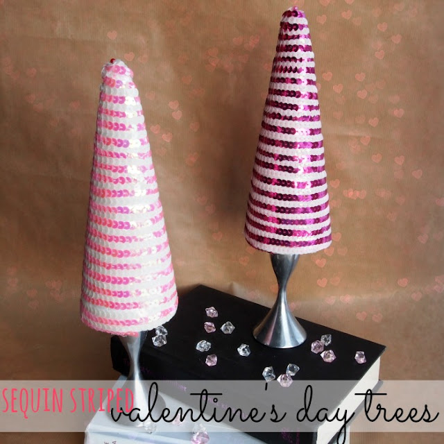 Sequin Trees {Becoming Martha}