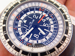FORTIS B47 CALCULATOR GMT - 3 TIME ZONES - AUTOMATIC