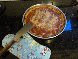 Gluten Free Deep Dish Pizza