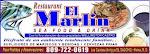 Restauran El Marlin en Haina