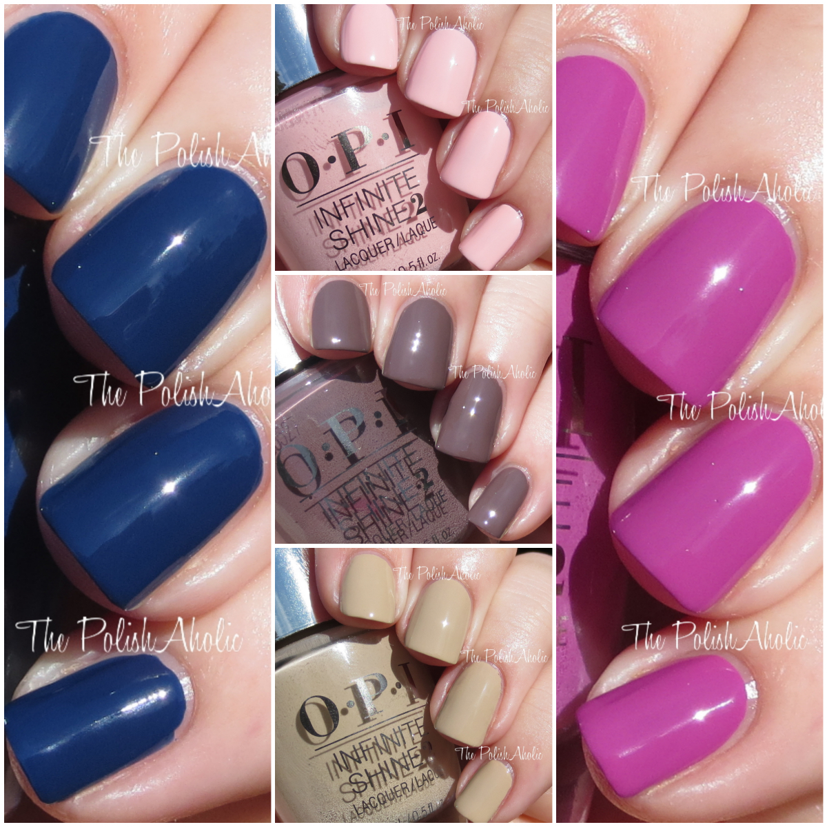 The PolishAholic: OPI Infinite Shine Swatches & Review