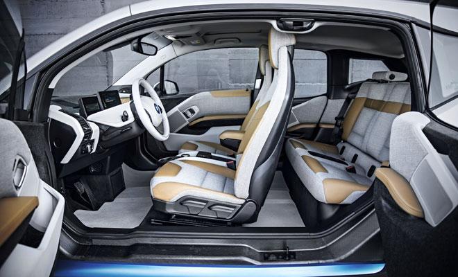 BMW i3 debut - interior