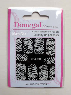 Donegal 3D Nail Art Sticker