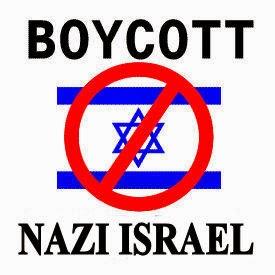 BOYCOTT NAZI ISRAEL