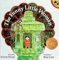bookcover of The Funny Little Woman  retold by Arlene Mosel