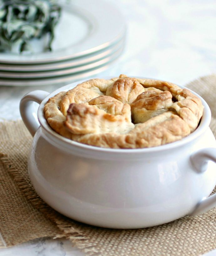Roasted Autumn Vegetable Pot Pie