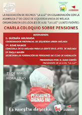 Charla-coloquio: Defendiendo las Pensiones
