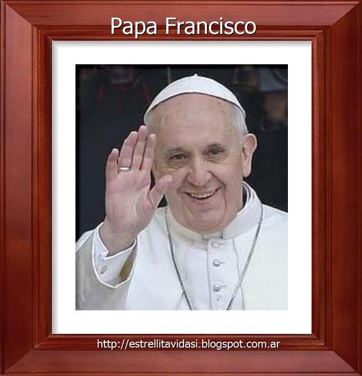 Rezamos por nuestro Santo Padre y sus intenciones