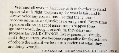 ignorance quotes suzy kassem