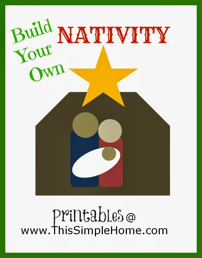 Nativity Printable {Free}