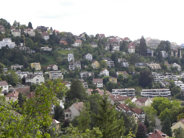 The hills of Stuttgart