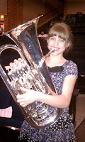 Kaylee the wonder euphonium-ist