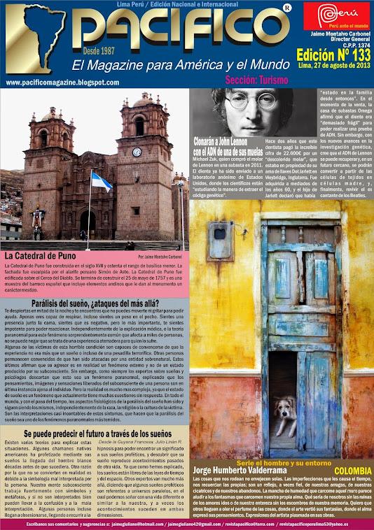 Revista Pacífico Nº 133 Turismo