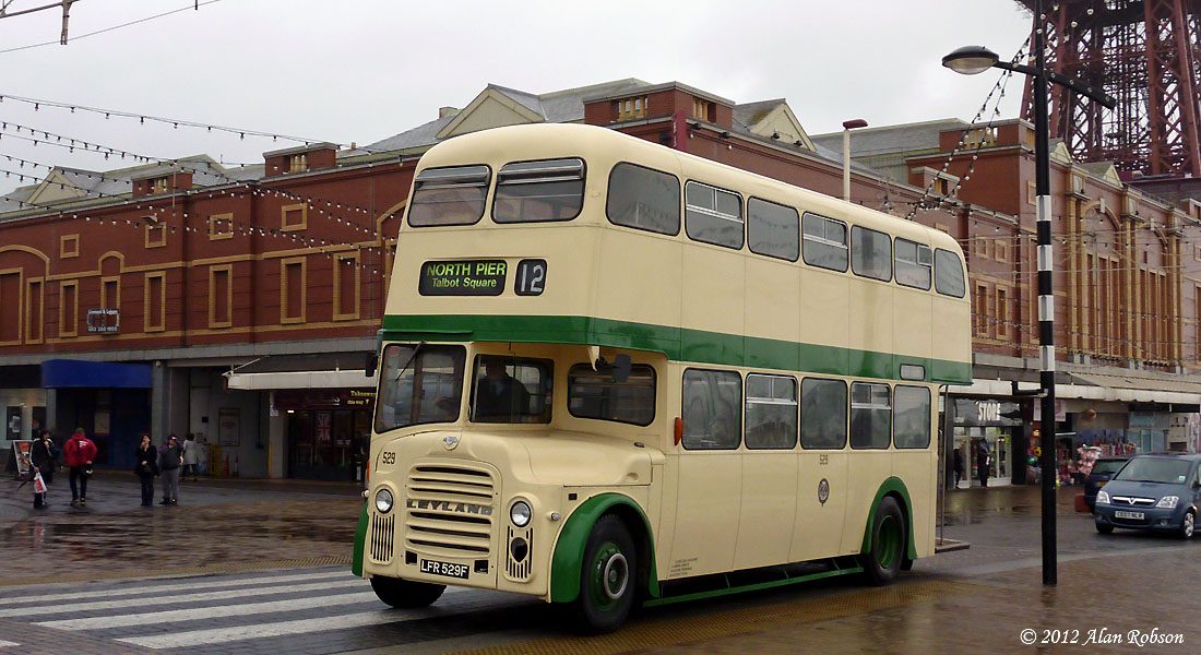 Blackpool Tram Blog: Classic Bus Service 12