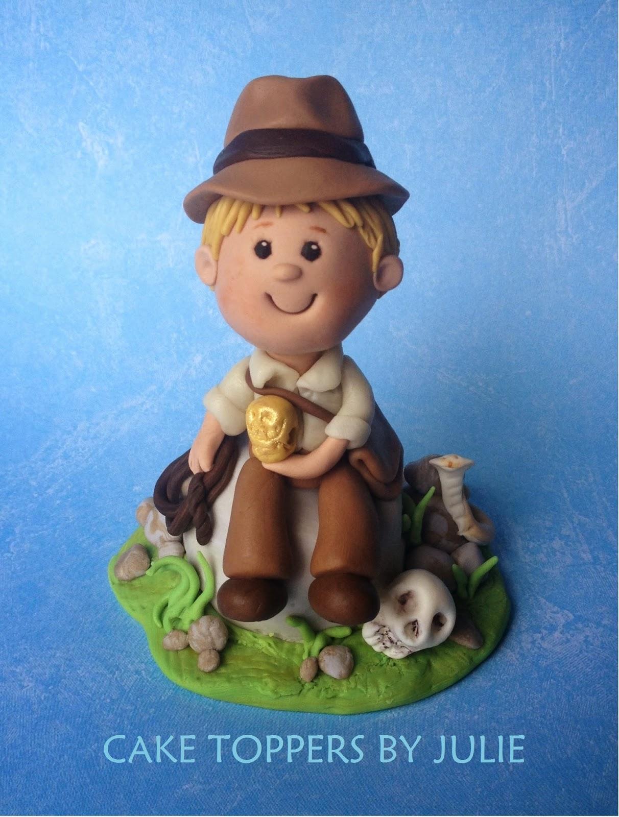 Indiana Jones Cake Topper