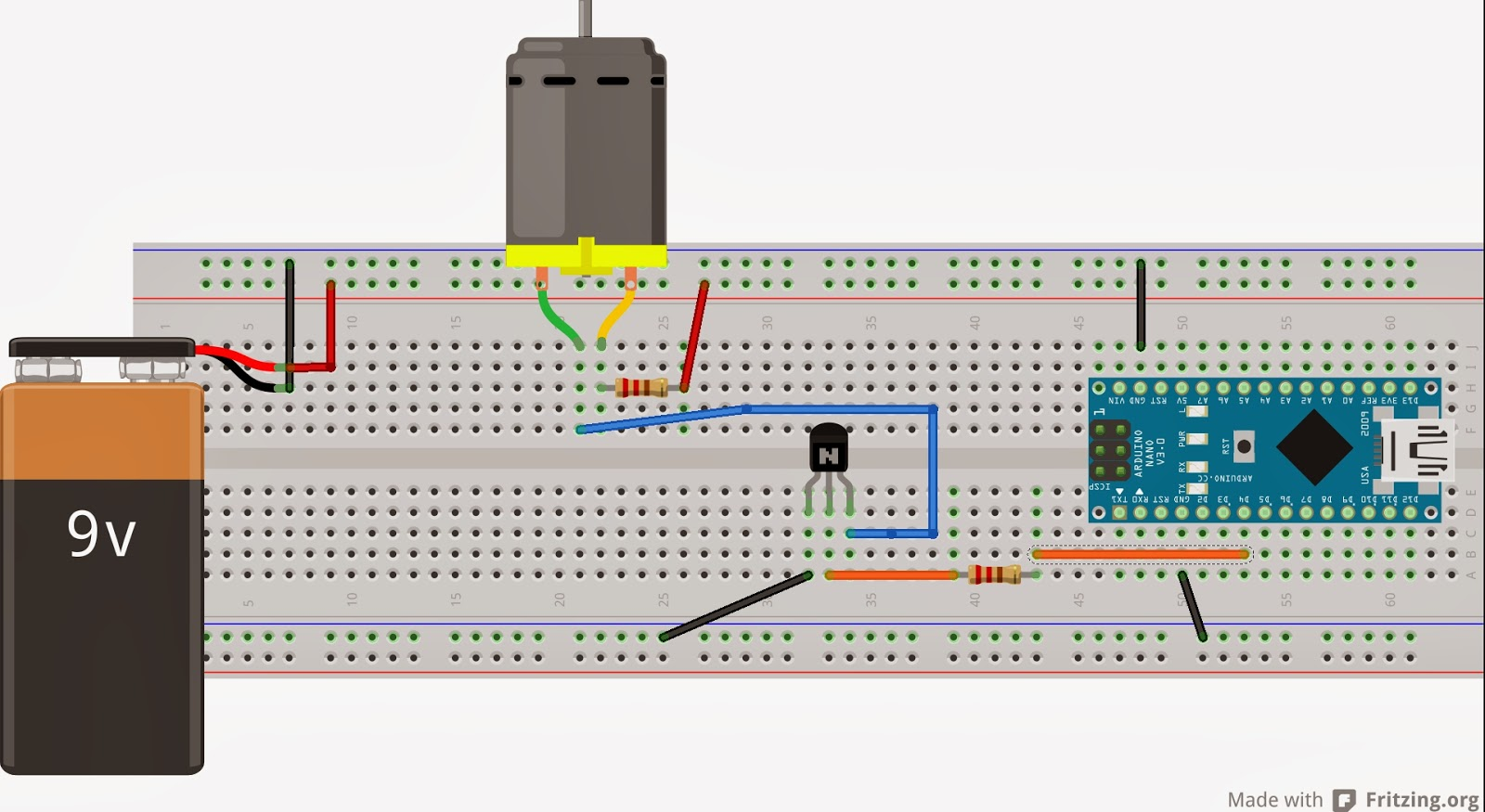 Using Npn Transistor As Switch