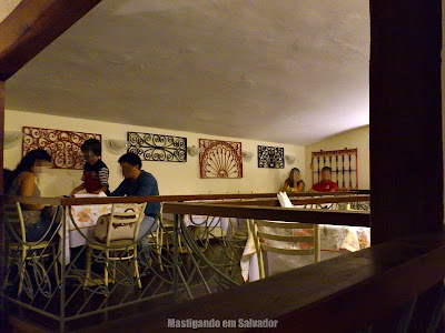 Cantina Cosa Nostra: Parte do ambiente do segundo andar