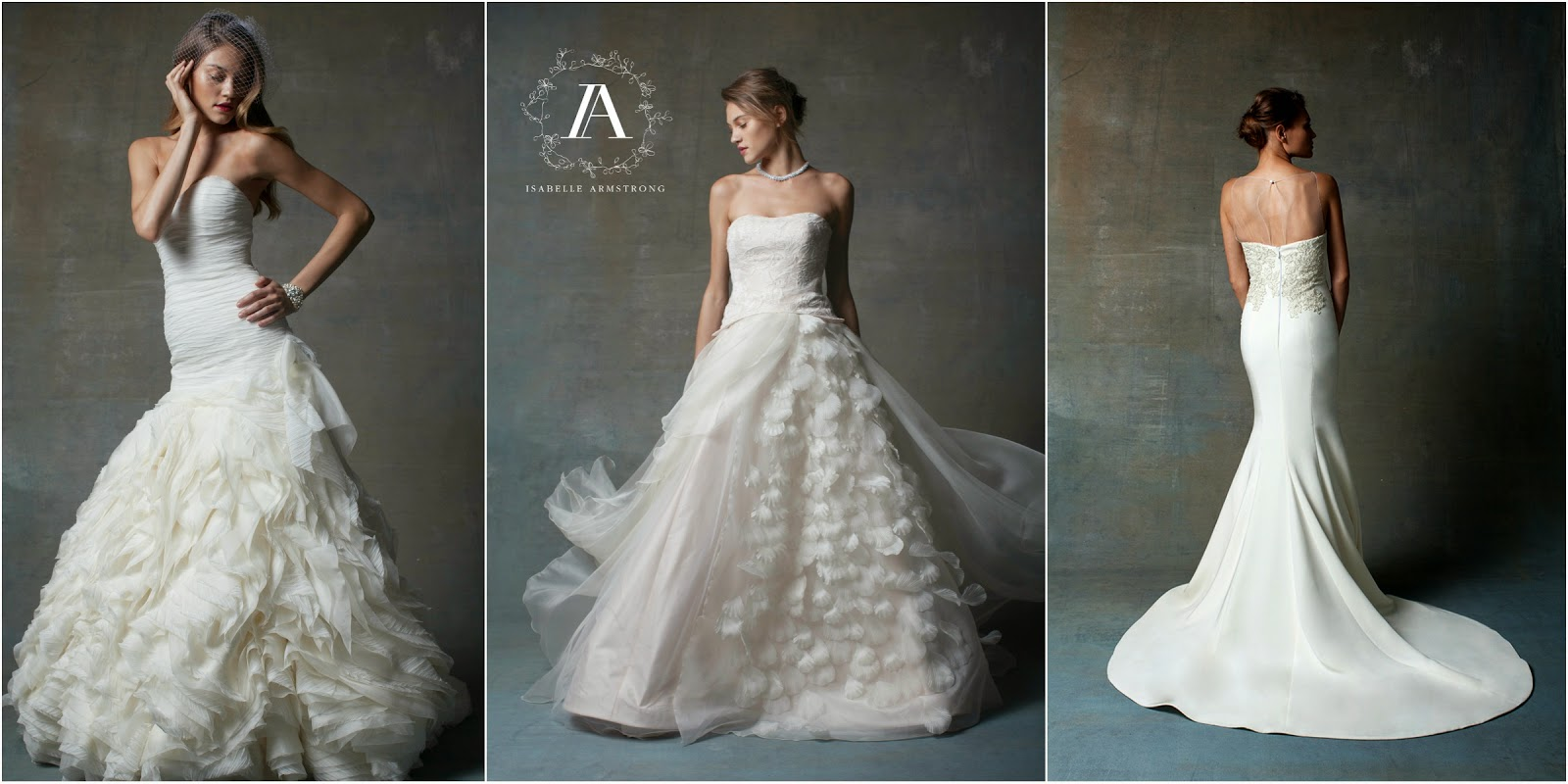 Isabelle Armstrong Wedding Gowns