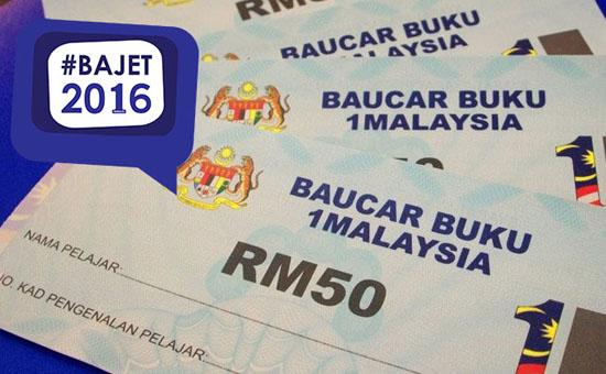 Syarat Baru Tebus Baucer Buku 1Malaysia 2016