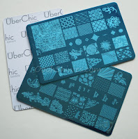 UberChic Beauty plates collection 3