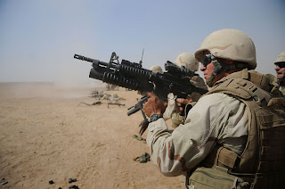 M4 carbine with M203