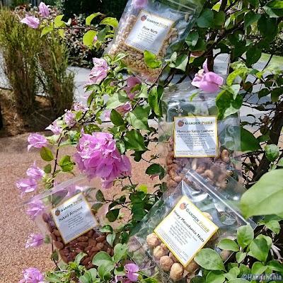 Goumet flavoured nuts
