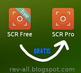 SCR Pro kini gratis, ulasan SCR pro versi 1.0.2 oleh rev-all.blogspot.com