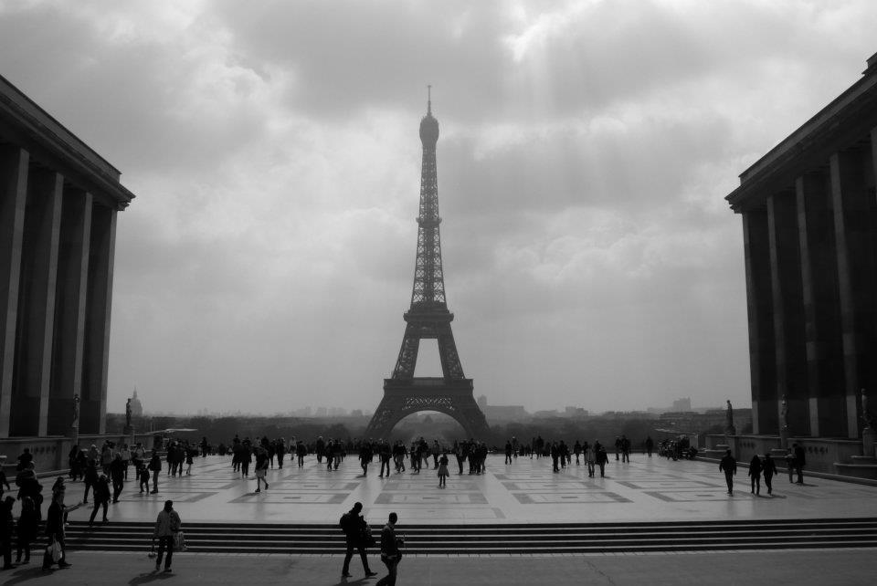 Black And White Photography Eiffel Tower Paris Black And White Save Wallpaper hd For High Resolutions