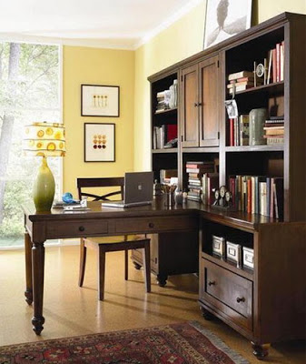 Wood Furniture Luxury Furnishing Home Office Design