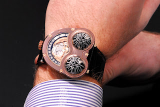 Wristshot Montre MB&F HM3 Chocolate Frog The PuristS