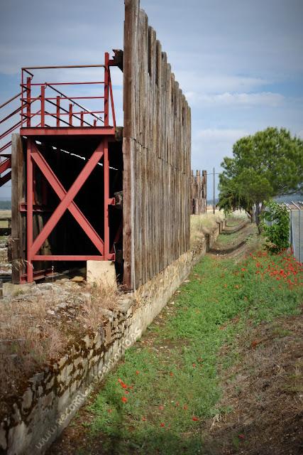 Recreación muralla campamento Petavonium
