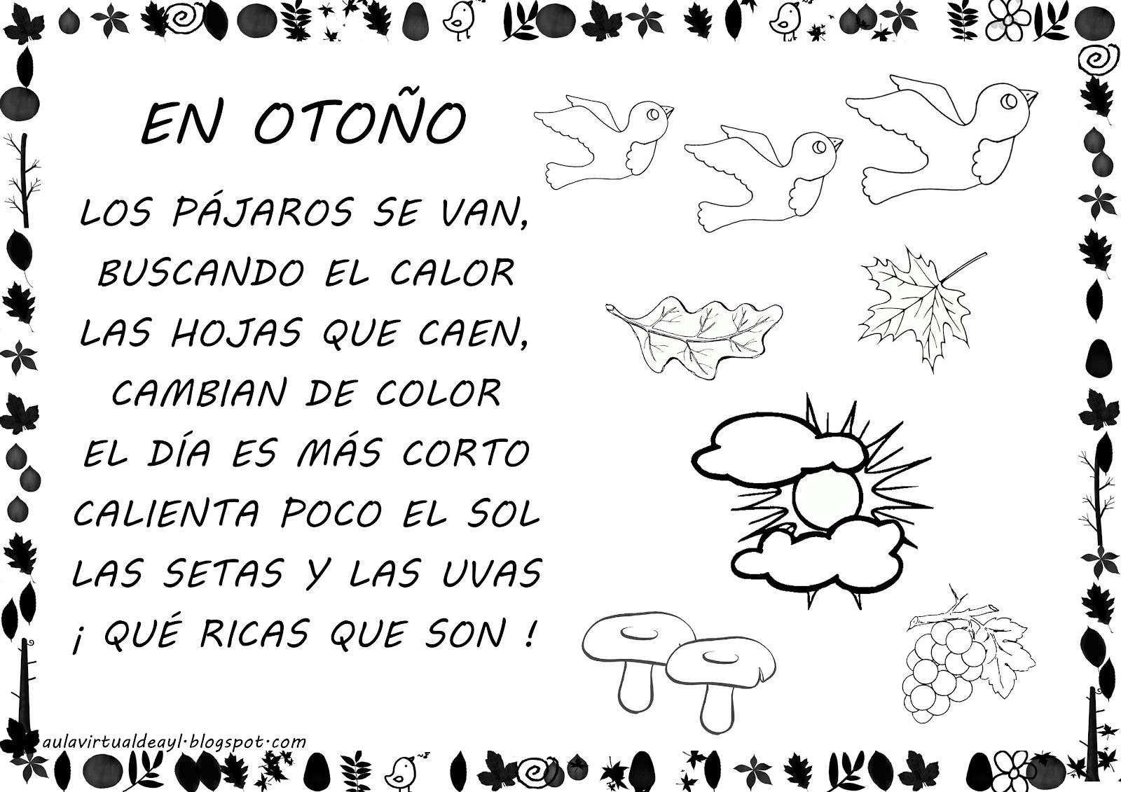 los poemas en gallego que voy a trabajar en mis sesiones de