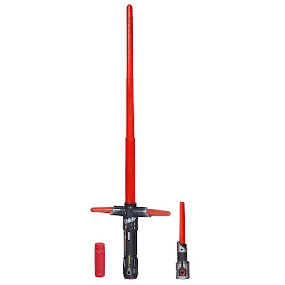TOYS : JUGUETES - STAR WARS 7 Bladebuilders : Kylo Ren | Sable ElectrónicoElectronic Lightsaber Episodio 7 El Despertar de la Fuerza Episode 7 The Force Awakens Producto Oficial Película Disney 2015 | Hasbro B2948 | A partir de 4 años Comprar en Amazon España & buy Amazon USA