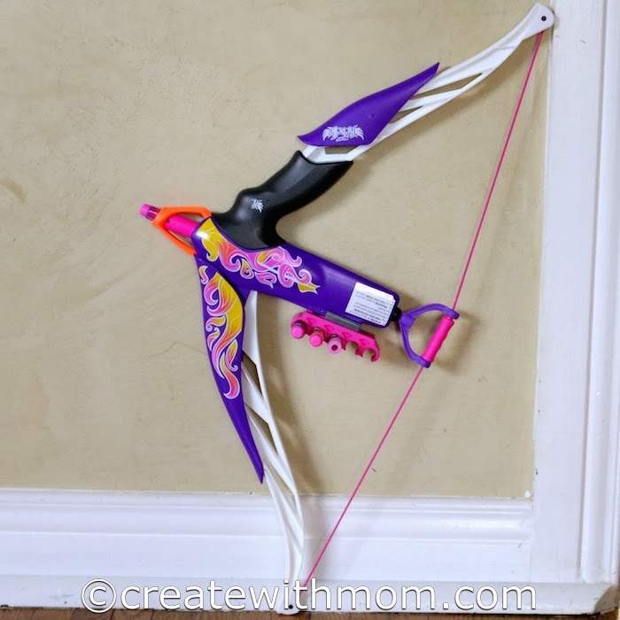 create with mom nerf rebelle heartbreaker bow and kreo