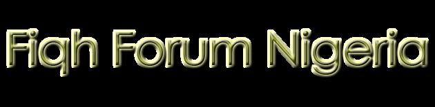 Fiqh Forum Nigeria